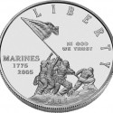 2005 Marine Corps Uncirculated Silver Dollar Obverse