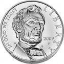 Lincoln Uncirculated Silver Dollar Obverse