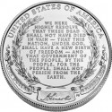 Lincoln Uncirculated Silver Dollar Reverse