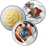Australian Orbital and Chinese Outlaw Commemoratives, Vatican Euro Coin