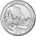 Yosemite Quarter, Fake £1 Coin, Online Coin Organizer