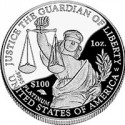 Platinum Coin, National Anthem Commemorative, Rare Double Eagle