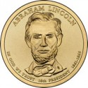 Lincoln Presidential Dollar and Medal Set, 2011 Native American Coin