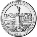 Gettysburg Park Quarters, 2011 Presidential Dollars