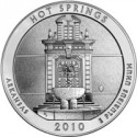 ATB Hot Springs Coin, US Mint Sales